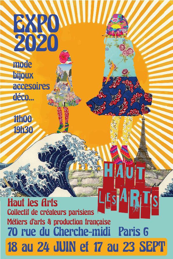 exposition créateurs - Juin 2020 - Rue du Cherche Midi 75006 Paris