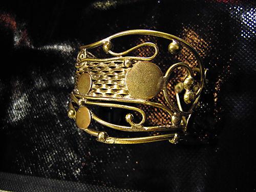 Bracelet Klimt - laiton