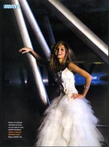 parution mariage magazine bracelet nacre