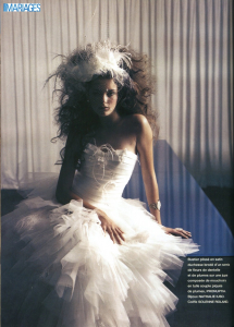 parution mariage magazine bracelet princesse