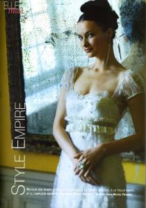 shooting mariage magazine bo cristal argent